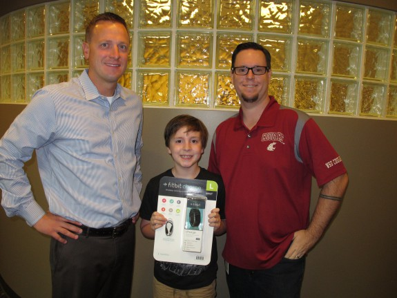 Puzzle Contest Winner Receives Fitbit from Moss Wall Orthodontics in Lacey, WA