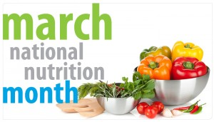 National Nutrition Month Lacey WA